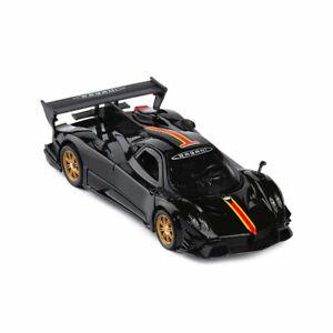 Pagani Zonda R Sports Car 1:32 Model Car Diecast Toy Vehicle Sound Light Black