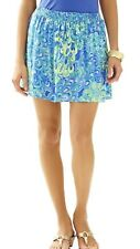 Lilly Pulitzer Amber Skirt Lilly's Lagoon Size L NWOT