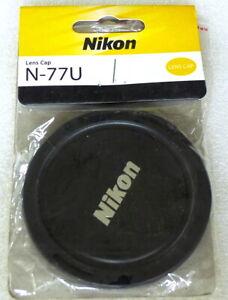 Nikon 77mm Front Lens Cap - Genuine - NEW