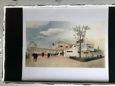 William Lescaze House of the Future Lithograph Portfolio Print Architecture 2039