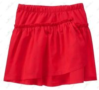 New/WT Gymboree Star-Spangled Summer Girls Cute Red Tiered Ruffle Skirt
