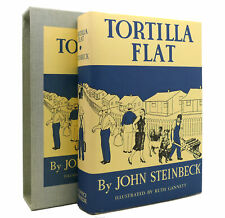 John Steinbeck TORTILLA FLAT The First Edition Library - FEL 1st Edition Thus 1s