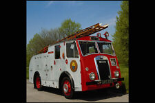 779072 - 1948 Dennis F8 W SUSSEX VIGILI DEL FUOCO ACQUA GARA Ladder A4 FOTO STAMPA