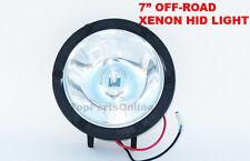 """7"""" Round HID Spot light Raptor Tundra Tacoma Yamaha Rhino Silverado 24v Only"""