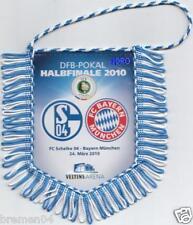 SCHALKE + Bayern + Wimpel Banner + DFB Pokal Halbfinale