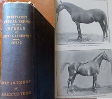 1904 Twenty-First Annual Report Bureau of Animal Industry, 21 XXI US Agriculture