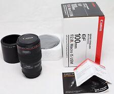 Canon EF 100mm f/2.8 L IS USM Lens