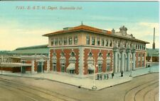 Evansville, IN The E.& T.H. Depot