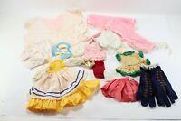 Vintage LOT Mixed UNKNOWN Large Doll Shirt Dresses Fashion Clothing Dress Doll B