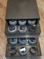 15 Selectric l & ll Typewriter Font Balls in IBM case - IBM GP - various fonts