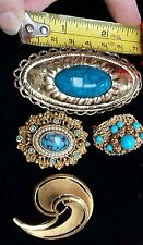 No Theme Gold Vintage Costume Jewellery (1950s)