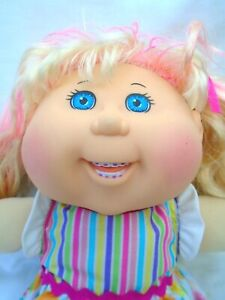 Cabbage Patch Kid Doll with braces teeth doll