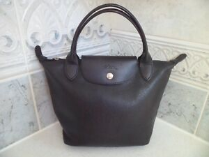 Longchamp in black  leather  handbag