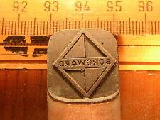 BORGWARD    LOGO  schöner Oldtimer Stempel / Siegel aus Metall