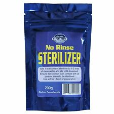 Harris No-Rinse Steriliser 200g for fast, easy Homebrew and household sanitising