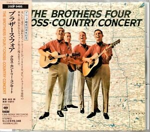 The Brothers Four  CD  CROSS COUNTRY CONCERT © 2013  JAPAN