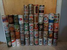 48 Vintage Old Beer Can Assortment Collection lot bundle