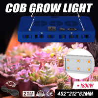 USA X6 COB 1800W LED Grow Light,Sunshine Full Spectrum Grow Light for Greenhouse