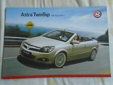 Vauxhall Astra Twintop range brochure 2008 models Ed 1