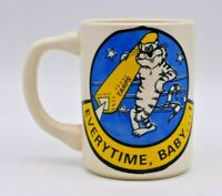 "Vintage US Navy F-14 TARPS ""Everytime, Baby!"" Peeping Tom Coffee Mug Recon"