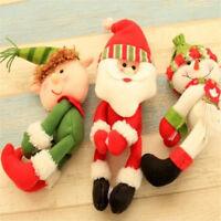 Santa Snowman Elf Wine Bottle Cover Table Christmas Party Decor Xmas Ornament hi