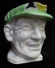 RARE Don Bradman 1930 Large Toby Jug Marutomo Ware Baggy Green Cap  Memorabilia