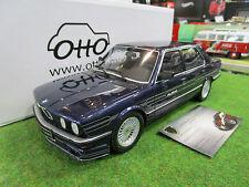 BMW ALPINA B7 E28 bleu au 1/18 OTTOMOBILE OT633 voiture miniature de collection