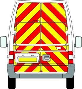 FORD TRANSIT H3 HIGH ROOF FULL Chevron Kit 2006-14 ENGINEERING CHAPTER 8