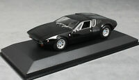 Minichamps Maxichamps De Tomaso Mangusta in Black 1967 940127121 1/43 NEW