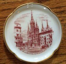 Rosenthal China Wiesbaden Schlossplatz Beautiful Gold Leaf Trinket Dish