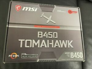 MSI B450 Tomahawk AMD Ryzen AM4 Motherboard