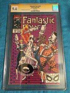 Fantastic Four #343 - Marvel - CGC SS 9.6 NM+ Signed by Walt Simonson