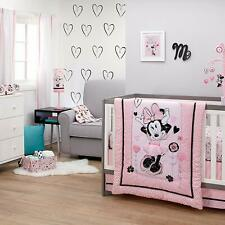 Disney Minnie Mouse Hello Gorgeous 4-Pcs Crib Bedding Discontinued - See Details