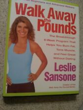 Walk Away Pounds Text/Work Book Leslie Sansone