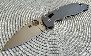Spyderco Manix 2 C101GPBN2 Earth Brown G10 M390 Satin Limited Exclusive NEW