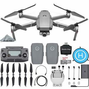 DJI Mavic 2 Zoom Drone - 2x Optical Zoom + Extra Battery + Starter Bundle Kit