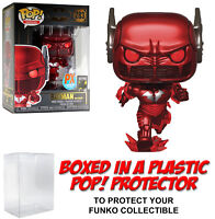 Funko POP! DC Heroes ~ BATMAN: THE RED DEATH PX (FLASH)(#283) w/Protector Case