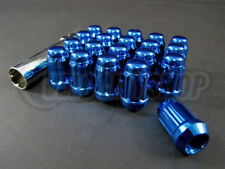 Muteki Lug Nuts Close End Blue 20 pcs 12 x 1.5mm thread pitch