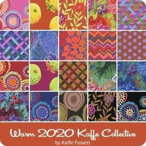20Pcs Design Strip-Warm Kaffe Faseet Collective- February 2020