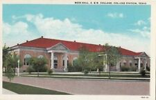 Postcard Mess Hall A & M College College Station Texas