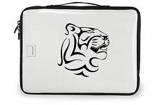Tribal tiger decal, tribal tiger sticker, tribal tiger vinyl decor, tiger decor