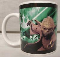 Star Wars Yoda Chewbacca Coffee Mug 12 Oz Green Cup LucasFilm Galerie 2008
