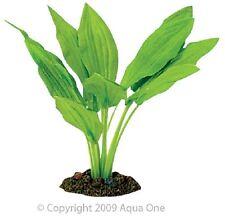 Aqua One A1-24114 Silk Plant Amazon Sword Broad Leaf 20cm For Freshwater Tank