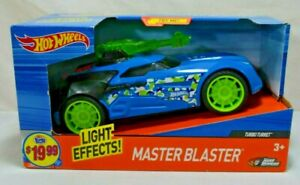 Hot-Wheels-Road-Rippers-Master-Blaster-Turbo-Turret-Blue-3-lights NEW SEALED!