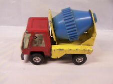 """LOOSE - Metal Topper Toys Cement Mixer Mixing 4.75"""" Truck Zoomer Boomer"""