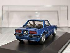 Fiat X1/9 Blue 1/43 NOREV Code 3