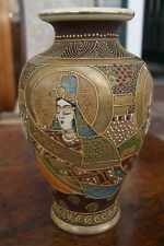 japanische Satsuma Vase, japanese Satsuma Pottery, Meiji period