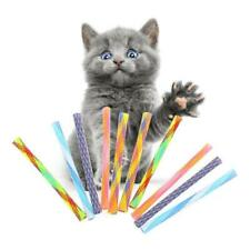 10Pcs Pet Cat Spring Interactive Toys Durable Gauge Plastic Kitten Playing Toy