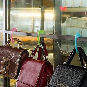 Folding Bag Hanging Hooks Umbrella Clip Hanger Table Purse Bag Hook Holder