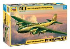 PETLYAKOV Pe-8 - WW II LONG RANGE HEAVY BOMBER (SOVIET AF MKGS)#7264 1/72 ZVEZDA